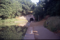 Entrance to the Blisworth Tunnel