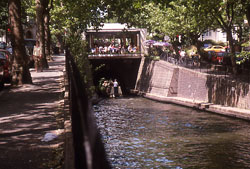 Canal restaurant in Little Venice