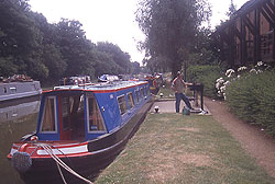 Waterpoint along the Grand Union Canal